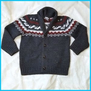 Carters Boys Preppy Button up Sweater - 5t
